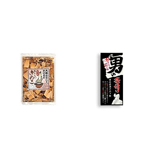 [2点セット] 大根おろしをかけると おいしいきのこ(180g)・男の茶漬け(4.8g×8袋)