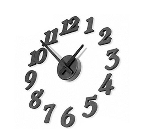 RoomClip商品情報 - 壁時計 ウォールクロック (黒)