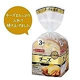 ヤマザキ チーズゴールド 3枚切り×4斤セット (小型) 山崎製パン横浜工場製造品
