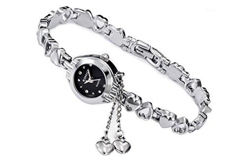 【SEBLES】ブレスレットのような可愛い 腕時計 防水 ハ...