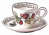 Noritake(ノリタケ) プリマチャイナ ロイヤルオーチャード デミダス碗皿 1客 Y89592/9416