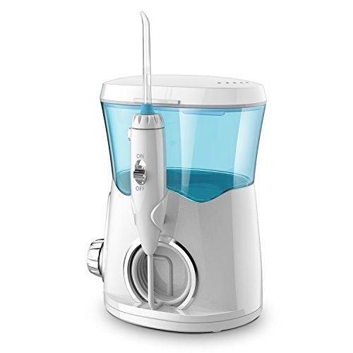 Dreamegg 口腔洗浄器 ジェットウォッシャー 歯ぐきケア 歯間洗浄 5段階水圧&最大水圧20%アップ 口腔問題対策 置き据え型&大容量タンク