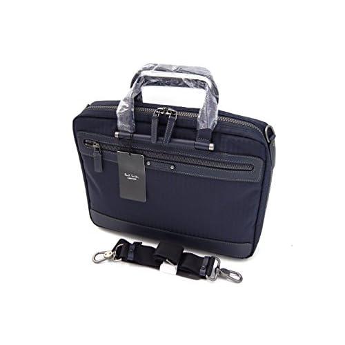 ポールスミス Paul Smith PCケース ビジネスバッグ ネイビー ハウンドトゥースチェック 571603 新品正規品