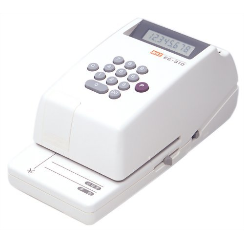 マックス 電子チェックライタ/8桁 EC-310