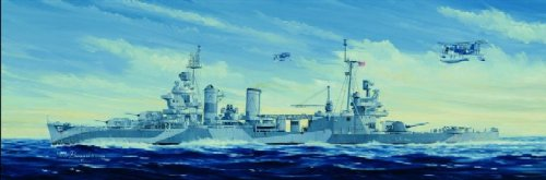 1/350 米海軍 サンフランシコ CA-38 1944