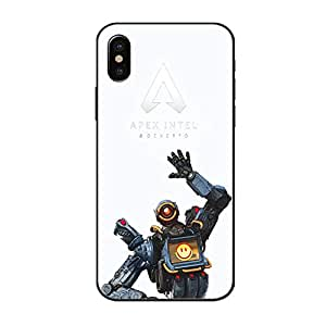 IPhone用ケースApex Legendsケースパスファインダープリントカバーfor iPhone,White,iPhone7