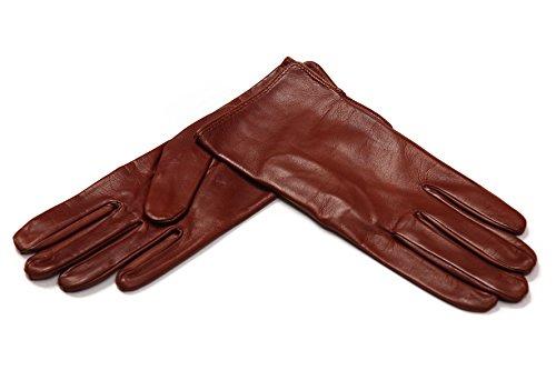 MEROLA レディース手袋 ナパレザー(シルク) (6.5(...