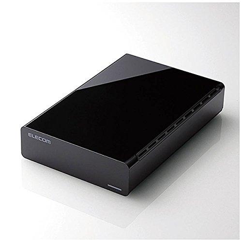 ELD-ERT010UBK(ブラック) 外付けHDD 1TB ...