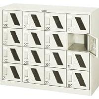 シューズボックス16人用1050×380×880窓付 SC-16WM (カギナシ)