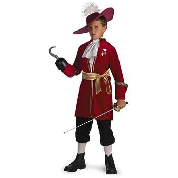 フック船長 コスチューム ディズニー 子供 衣装 コスプレ ピーターパン 海賊 悪者 悪役 男の子 ヴィランズ 悪役 Sサイズ