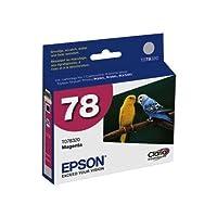 Epson Stylus ®フォトr260/ r280/ r380/ rx580/ rx595/ rx680アーティザン50Claria hi-definitionマゼンタインクカートリッジ(しみ、スクラッチ、フェード、&防水、部品番号t078320