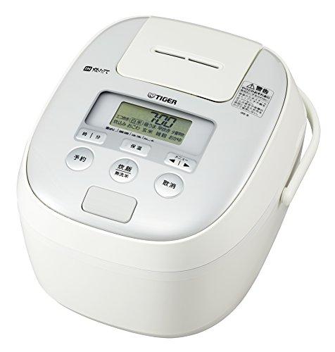 タイガー 炊飯器 5.5合 IH ホワイト 炊きたて 炊飯 ジャー JPE-B100-W Tiger