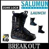 15-16 SALOMON / サロモン LAUNCH メンズ ブーツ スノーボード 28.5 BALLISTIC-BLACK