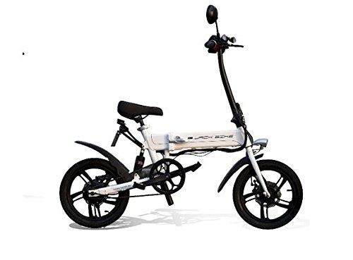 電動ハイブリッドバイク JACKBIKE Z−1(ホワイト)