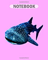 Notebook: maldivian whale shark4 - 50 sheets, 100 pages - 8 x 10 inches