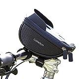 [Liebetion(リーベシオン)] ハンドルバック トップチューブバック スマホ 自転車 マウンテンバイク ロードバイク トップチューブ 防水 iphonex iphone6 iphone7 iphone8 iphone