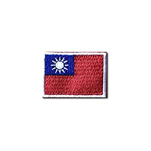 台湾 旗 ・ 国旗 ・ ミニ / アイロン ワッペン