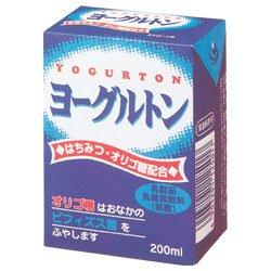 ヨーグルトン乳業 ヨーグルトン 200ml紙パック×16本入×(2ケース)