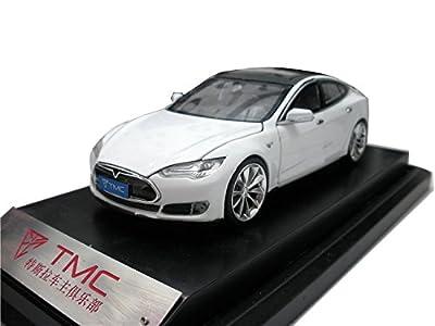 1/32 TMC Tesla Model S テスラ (ホワイト) 2016年モデル ミニカー 1 32