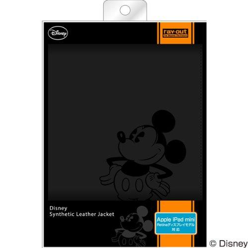 レイ・アウト iPad mini Retina用 ディズニー・レザージャケット/ミッキー RT-DPM2A/MK