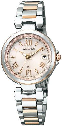 [シチズン]CITIZEN 腕時計 xC クロスシー エコ・ドライブ電波時計 ハッピーフライトシリーズ EC1034-59W レディース
