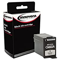 Innovera Remanufactured C6602A Ink, 500 Page-Yield, Black by Innovera [並行輸入品]