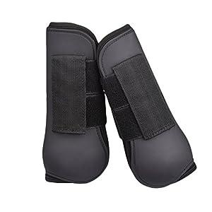Yunt 馬具 乗馬用品 馬用品 2つ入り 馬蹄 馬のレギンス スポーツ用品 足プロテクター 前肢用