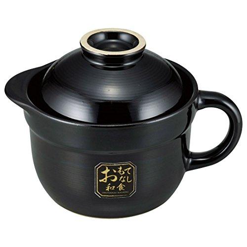 和平フレイズ 土鍋 ご飯鍋 1合 ガス火 電子レンジ 陶器 おもてなし和食 OR-7108