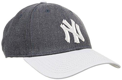 ニューエラとMLB 9Forty Heather Felt Medium Curve Cap?ニューヨーク・ヤンキース