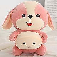 三色 子犬 毛糸の人形 おもちゃ まくら 誕生日 プレゼント 55cm/0.6kg a
