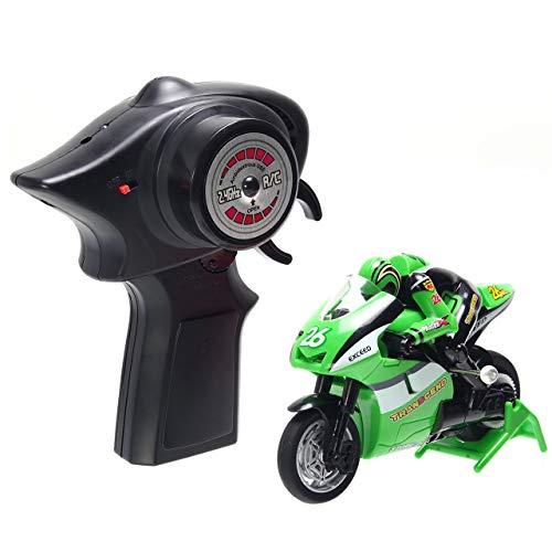 GoodsLand 【 日本語説明書 付き 】 バイクラジコン オートバイ ...