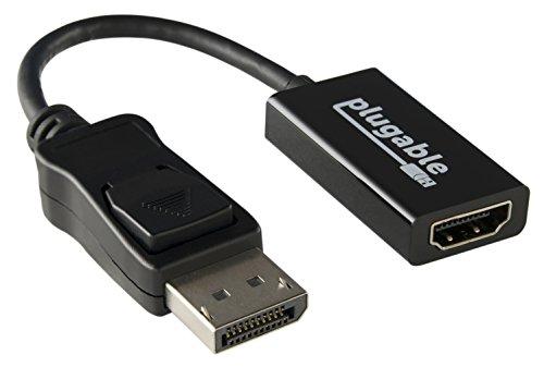 Plugable DisplayPort 1.2 - HDMI 2.0 アクティブ変換アダプタ(最大4K UHD 3840x2160@60Hzまでサポート)