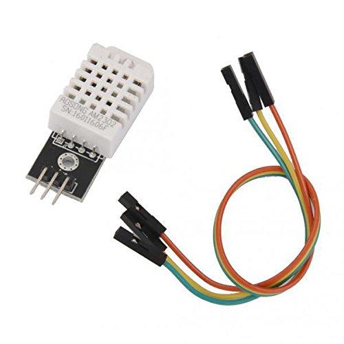 SONONIA  2個入り お買い得 DHT22/AM2302   デジタル 温湿度センサ 温度/湿度センサ  ワイヤー付き