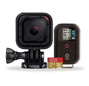 【国内正規品】 GoPro ウェアラブルカメラ バンドルキット HERO Session +Wi-Fiリモート+ SanDisk micro SD 32GB CHDHS-102BNDL-JP-JM