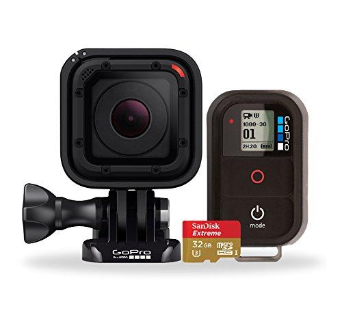 GoPro アクションカメラ バンドルキット (HERO Session +スマートリモート+ SanDisk micro SD 32GB)