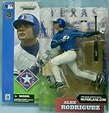 マクファーレントイズ MLBフィギュア シリーズ2/アレックス・ロドリゲス(A・ロッド)variant青/テキサス・レンジャーズ