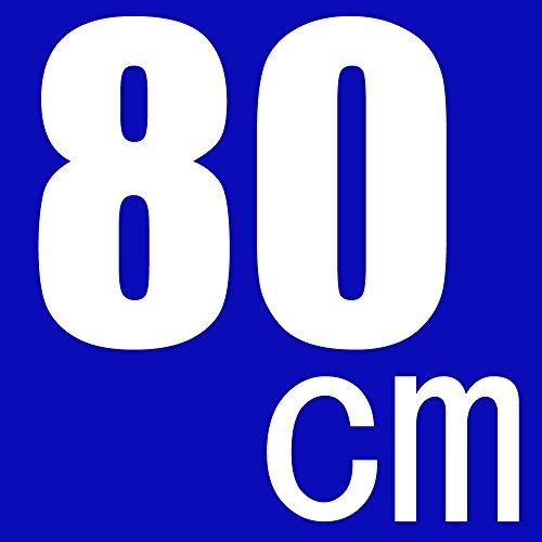 【yokohama.kk】 プロ志向 三脚 保護 収納 ケース 80 cm クッション パッド 入り キャリー バッグ 撮影 楽器 長尺 武器 モデルガン ライフル カメラ デジカメ ビデオ 楽譜 as0051 (黒 80cm)