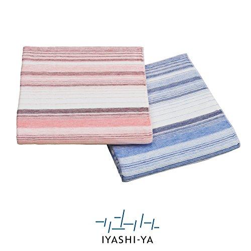 昭和西川 IYASHI-YA 今治 麻混 5重織 ガーゼケット シングル 140...