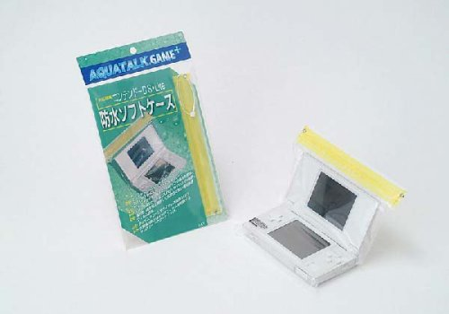 防水ソフトケース(ニンテンドーDS Lite用) イエロー 2個