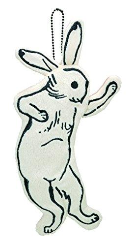 鳥獣戯画 ペンケース ウサギ