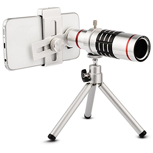 Elecguru 18倍望遠レンズキット 18X光学ズーム ユ...