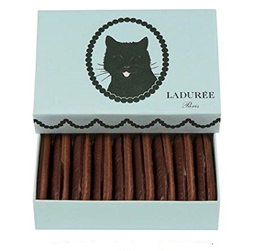ラデュレ Ladurée バレンタイン 限定 チョコレート ラング・ド・シャ ノワール・エ・レ