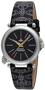 [ヴィヴィアン・ウエストウッド]VivienneWestwood 腕時計 オーブ ブラック文字盤 VV006BKBK レディース 【並行輸入品】