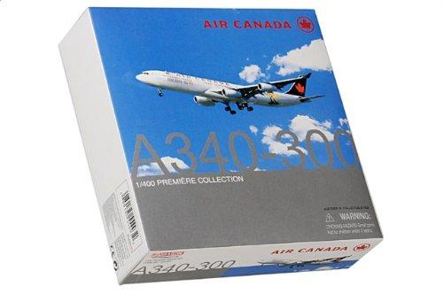 """1:400 ドラゴンモデルズ 55493 エアバス A340 ダイキャスト モデル Air カナダ C-FYLD """"Nagano 98""""【並行輸入品】"""