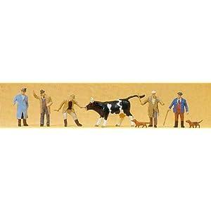プライザー 牛市場 塗装済完成品 HO(1/87) 10048
