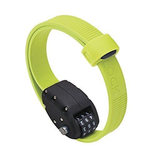 オットロック Cinch Lock 45cm 1本 ステンレスバンド ケブラーカバー ダイヤルロック グリーン(202045)