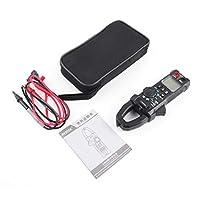 Saikogoods MESTEK CM80デジタルクランプメーター真のRMSマルチメータ5999のカウントAC / DCボルトアンペアオーム容量周波数NCVダイオードテスター ブラック