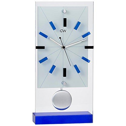 NARUMI(ナルミ) グラスワークス リンツ 振子置き時計...