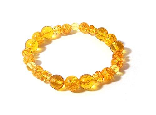 日本製 開運ブレスレット 大金運・黄水晶ブレス BL_1048