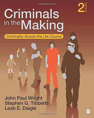Download Criminals in the Making: Criminality Across the Life Course 1452217998